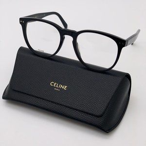 💯 NEW Celine CL5021IN 001 Unisex Eyeglasses
